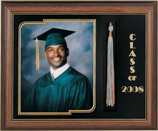 Shaded Walnut (IL15) Graduation Frame to Hold an 8x10 Image