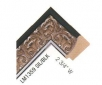 """LM 1359 SIL/BLK 2.75"""" Wide"""