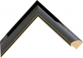 "IL15_Black Gold Marble 1.5"" Wide"